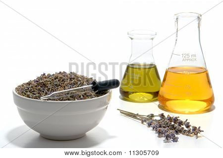 Lavender Flower Aromatherapy Scent Manufacturing Process