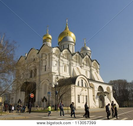 Moscow, Arkhangelskiy Cathedral