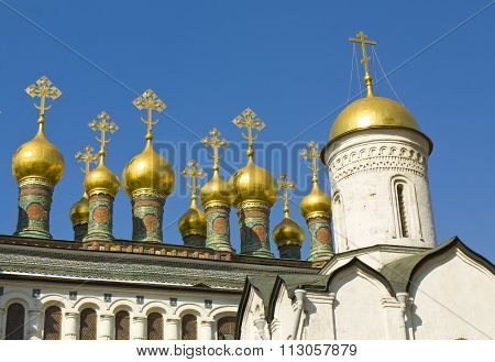 Moscow, Kremlin Cathedrals