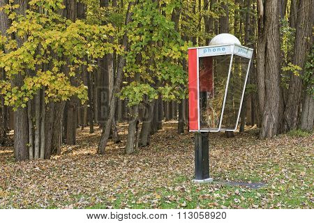 Outdoor Phone Booth