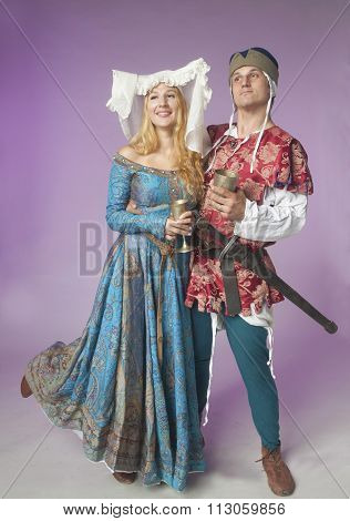 Merry Medieval Couple
