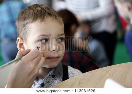 Boy With Painting Face