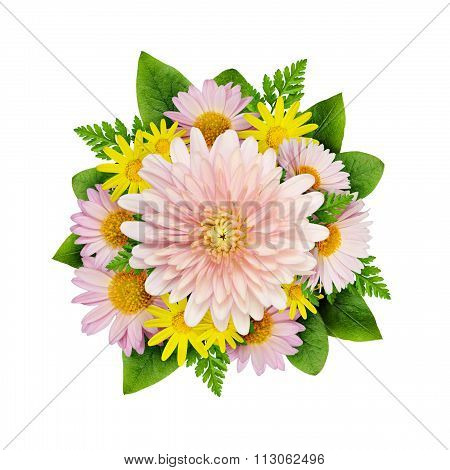 Aster Flowers Bouque