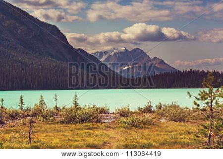 Bow Lake, Icefields Parkway, Banff National Park, Canada