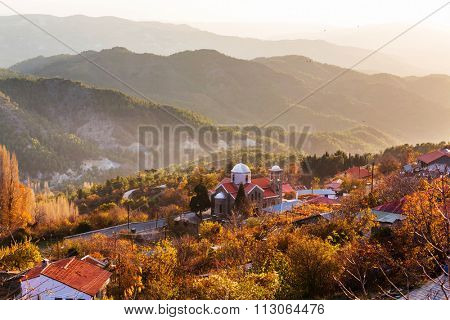 Traditional village of Cyprus