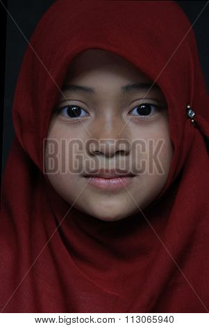 Girl in Indonesia