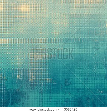 Abstract old background or faded grunge texture. With different color patterns: yellow (beige); blue; cyan