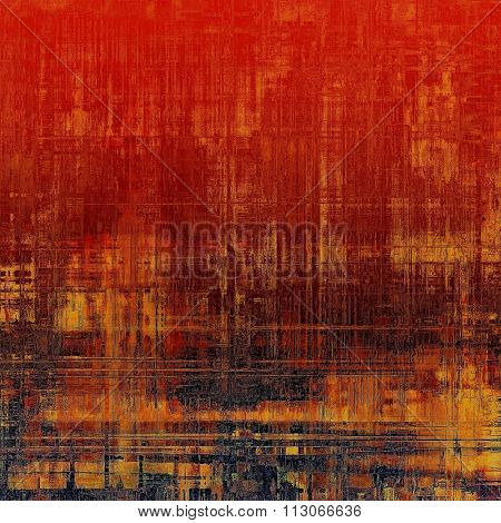 Vintage spotted textured background. With different color patterns: yellow (beige); brown; black; red (orange)