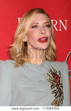 PALM SPRINGS - JAN 2:  Cate Blanchett at the 27th Palm Springs International Film Festival Gala at the Convention Center on January 2, 2016 in Palm Springs, CA