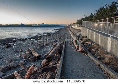 Olympics And Shoreline