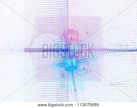 Recursive Fractal Flame Background