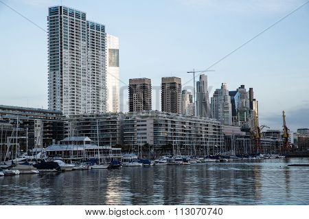 Puerto Madero In Buenos Aires..