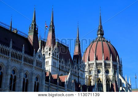 The Parliament N Budapest.