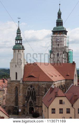 Thirteenth-century Church In Zlotoryja