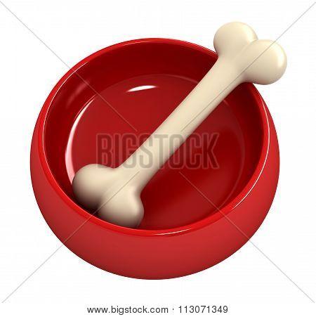Bone In Pet Bowl