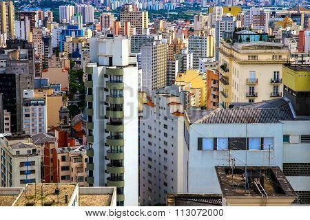 Skyline Of Sao Paulo.