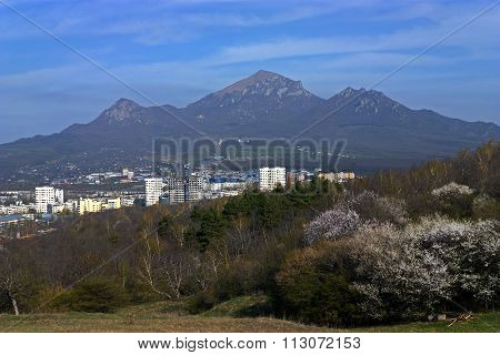 View On Mountain Beshtau Of Pyatigorsk City