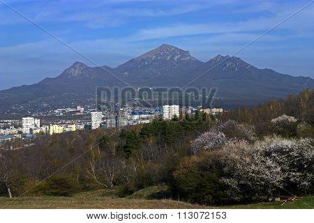 View On Mountain Beshtau Of Pyatigorsk City