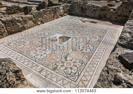 Roman mosaic