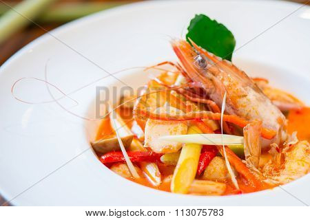 Tom Yum Goong,thai Food , Thailand Famous Food