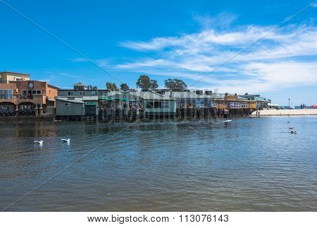 Lagoon at Capitola, California