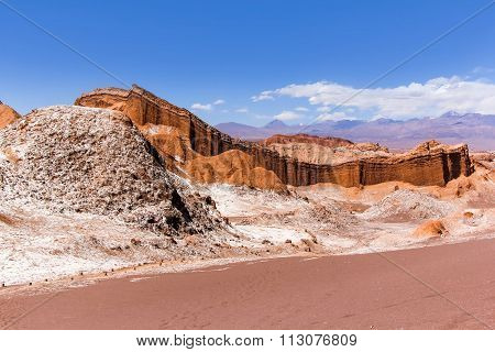 The Moon Valley In Chile