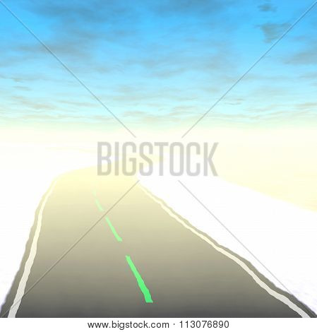 Crazy Abstract Road
