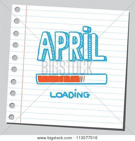 April loading process