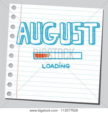 August loading process