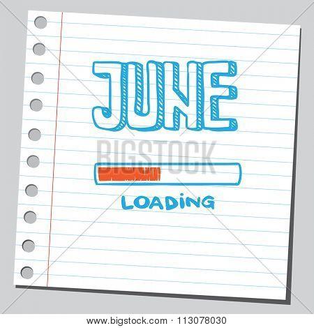 June loading process