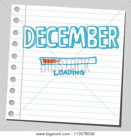 December loading process