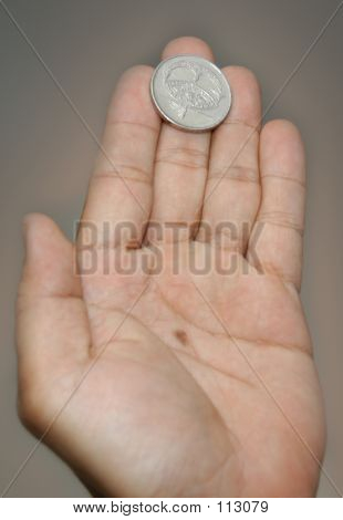 Coin & Hand