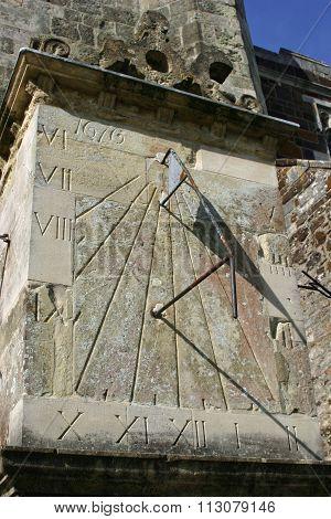 Wimborne Minster sundial