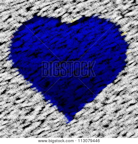 Crazy Abstract Heart