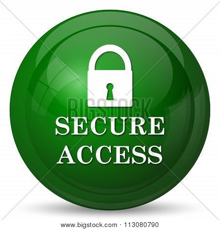 Secure Access Icon