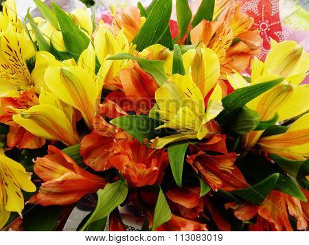 floral bouquet gift mothers day valentines day