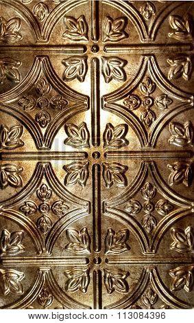 ornate tin tile background