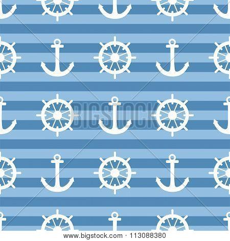 Tile sailor vector pattern