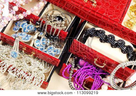 Treasure chest closeup