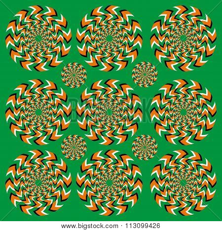 Perpetual Rotation Illusion