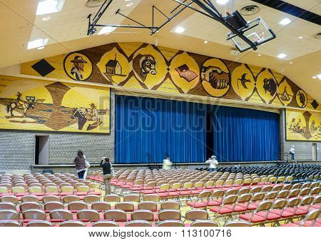 Interior Of Mitchell Corn Palace