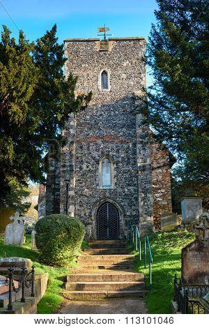 St Martin's Church In Canterbury