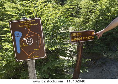 Trekking Laguna De Los Tres