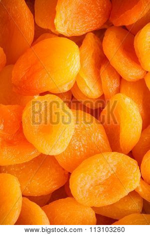 Diet. Apricots Dried Fruits As Food Background