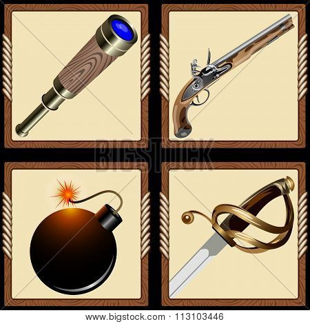 Icons Pirate Ammunition