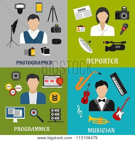 Musician, photographer, reporter and programmer