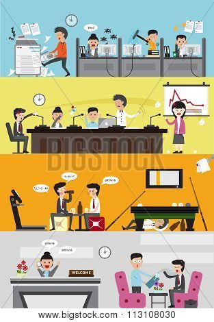 Problems And Disasters In Managing A Bad Business Company For Each Department Such As Office Employe