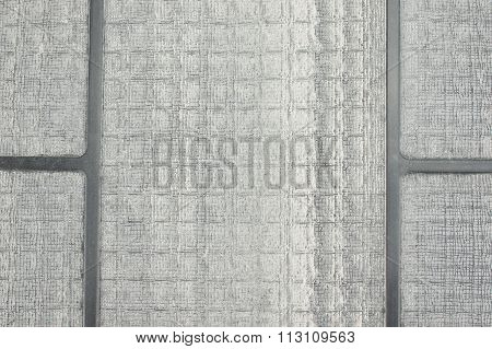 Accumulation Dust On Filter Of Air Purifier Texture