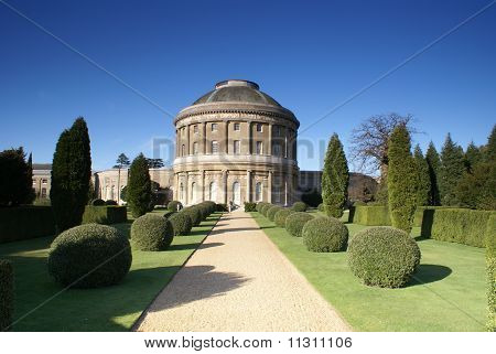 The old English stately home