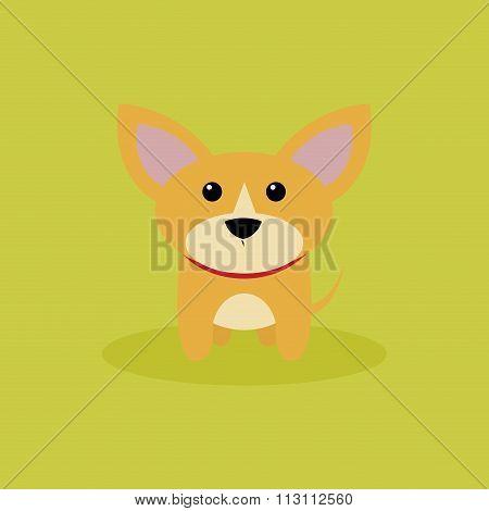 Cute Cartoon Dog